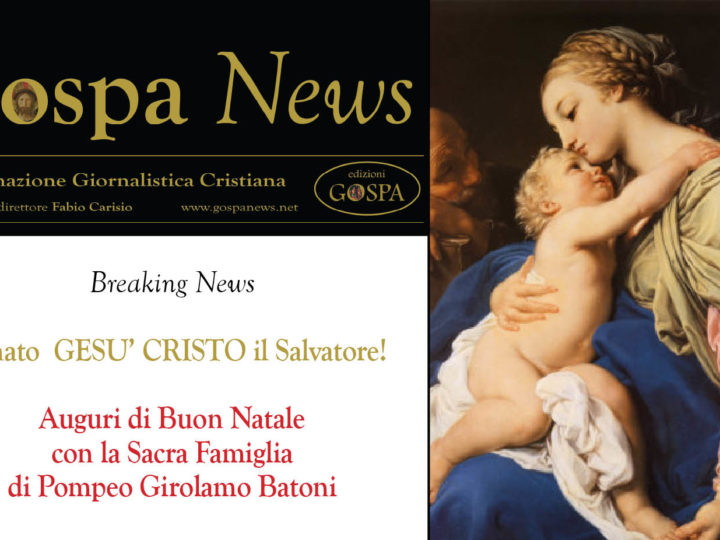 Breaking News: E' nato GESU' CRISTO Il Salvatore!