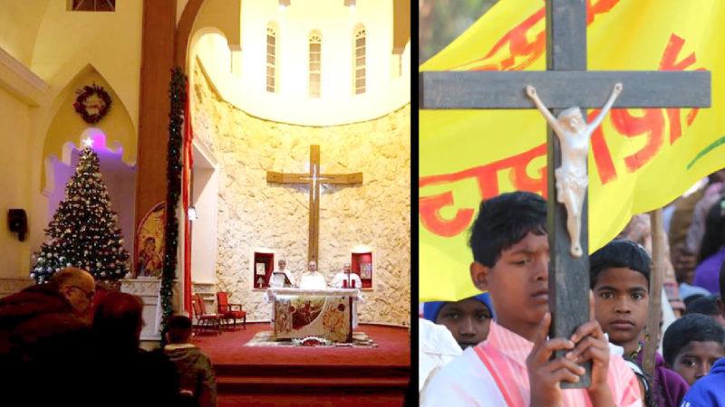 Cristiani perseguitati: Messe di Natale cancellate in India e Iraq