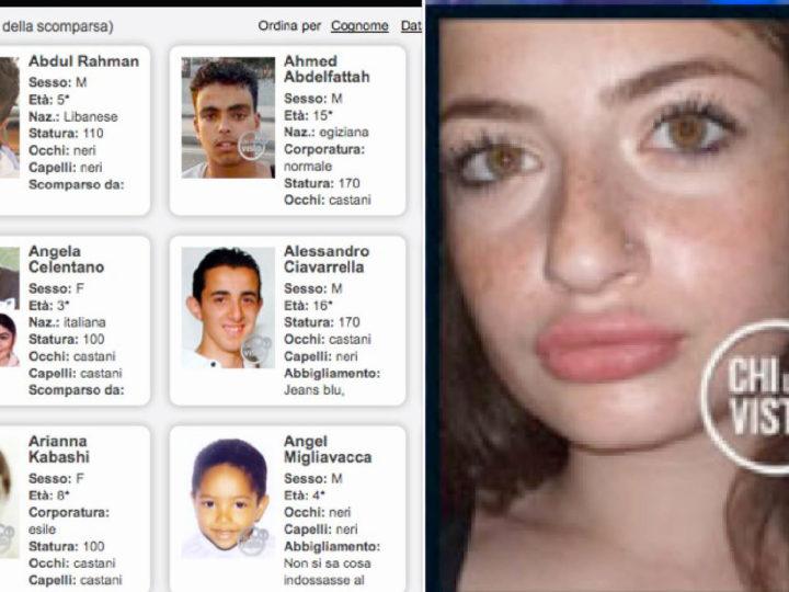 2.536 MINORI ITALIANI SPARITI, ANCHE DAI CENTRI DI AFFIDO. Ritrovata la 14enne Gemma nella Giornata degli Scomparsi