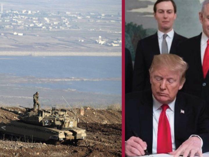 """""""Israele deve lasciare il Golan"""". Schiaffo dell'Onu a Trump ed a Netanyahu, sotto accusa per tangenti"""