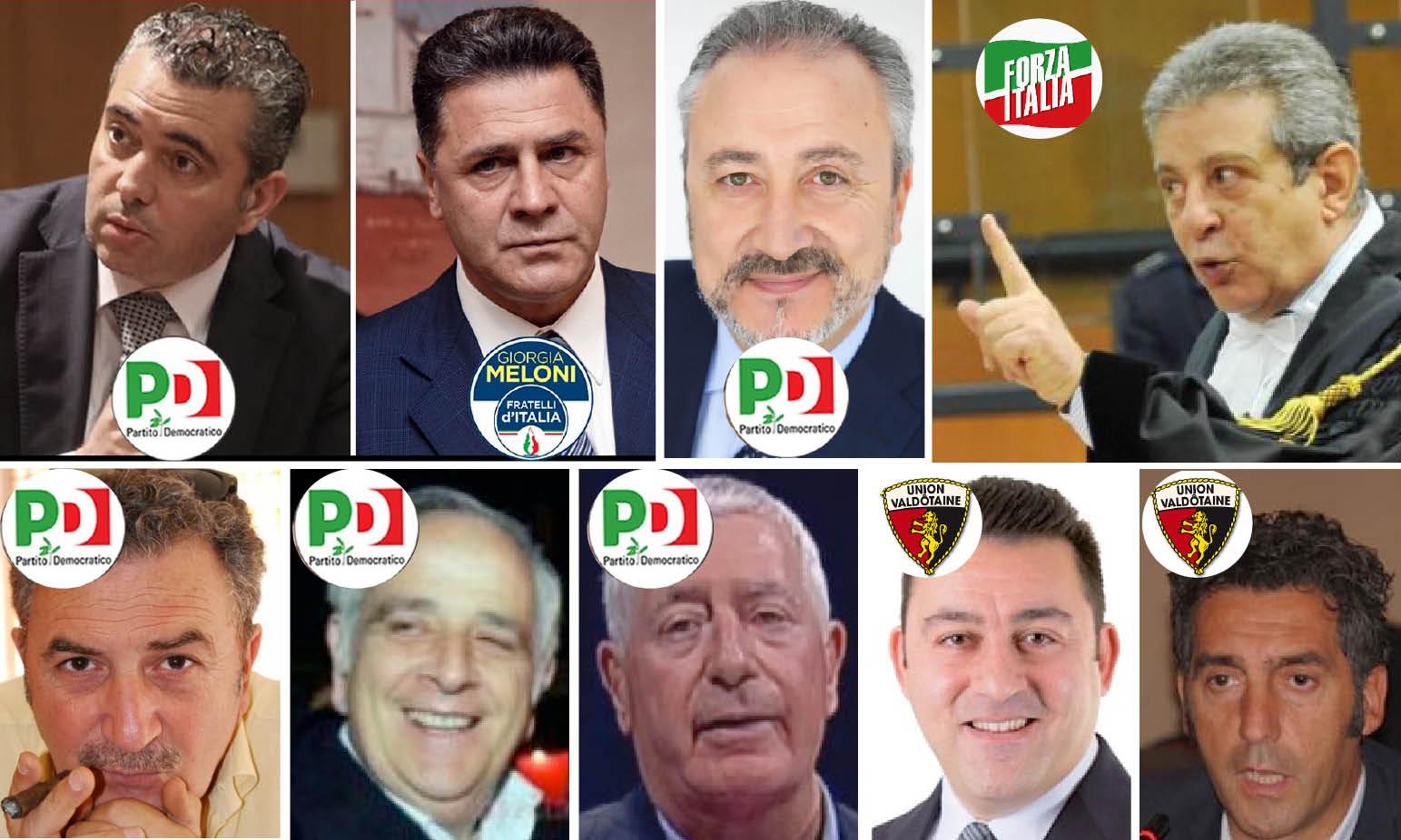 """'NDRANGHETA & MAFIA: I POLITICI ARRESTATI-PROCESSATI sull'""""autostrada"""" dei massoni…"""