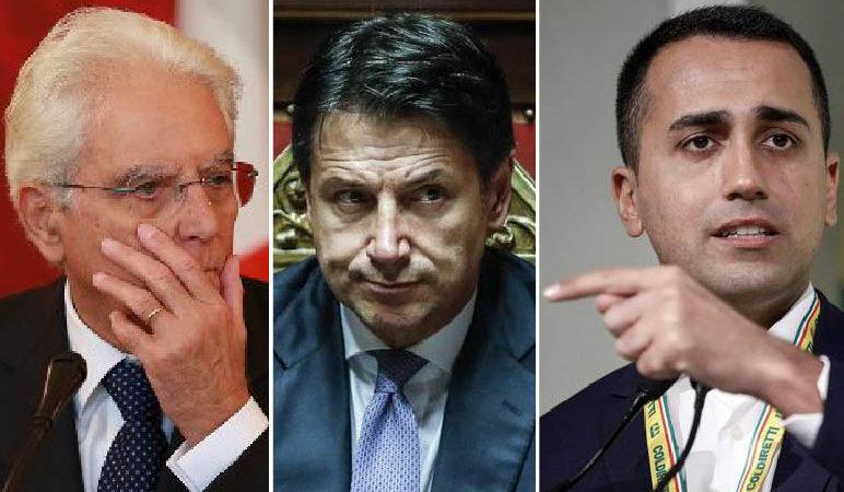 Tre pupazzi nel Luna-Park del DEEP STATE-CIA alla canna del gas in Libia