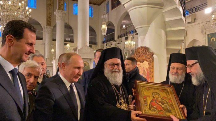 Syrian Orthodox Christmas 2020 Trump kills, Putin and Assad praise Our Lady for Orthodox