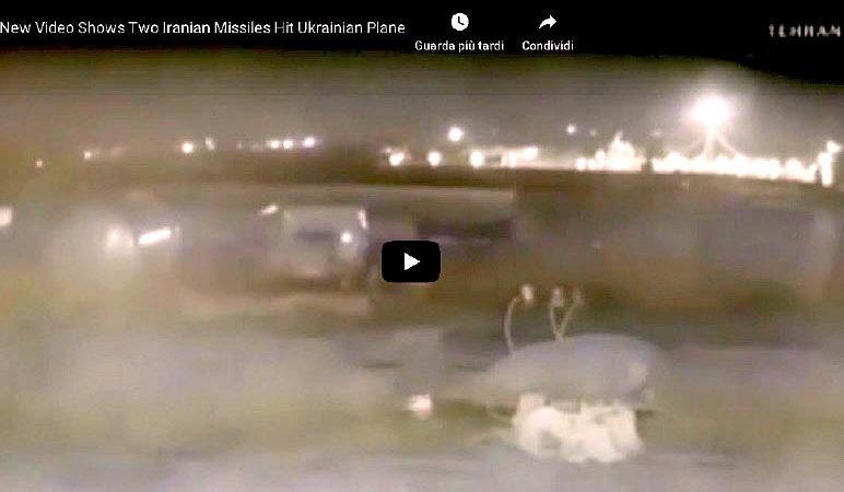 Disastro Boeing, video mostra due missili. Sospetto attacco cibernetico, misteri sulla scatola nera