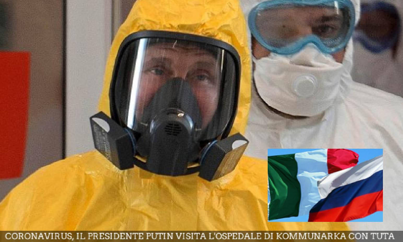 """CoronaVirus – 8. Esclusiva: """"Missione Russa in Italia e nel Mondo per Ripulirli dalla BIo-Arma"""""""