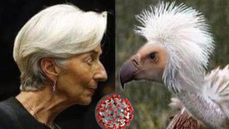 CORONAVIRUS, BCE AVVOLTOIO SENZA PIETA': Bazooka Q.E. per spolpare l'Italia col deficit