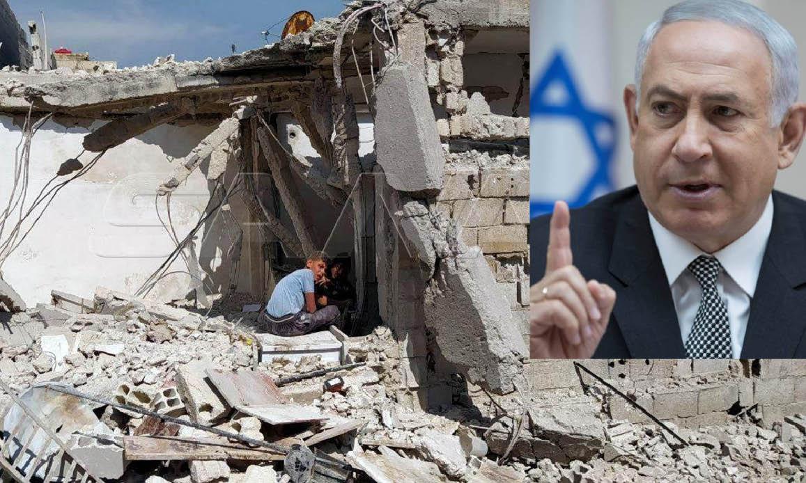 Diabolico BIbi appena confermato Premier in Israele Uccide in Siria coi Missili più della Pandemia
