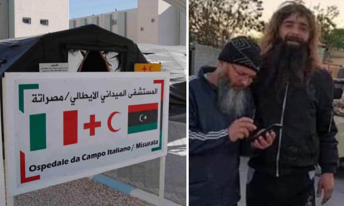6 JIHADISTI DI AL QAEDA in cura nell'Ospedale MIlitare Italiano in Libia. LNA accusa