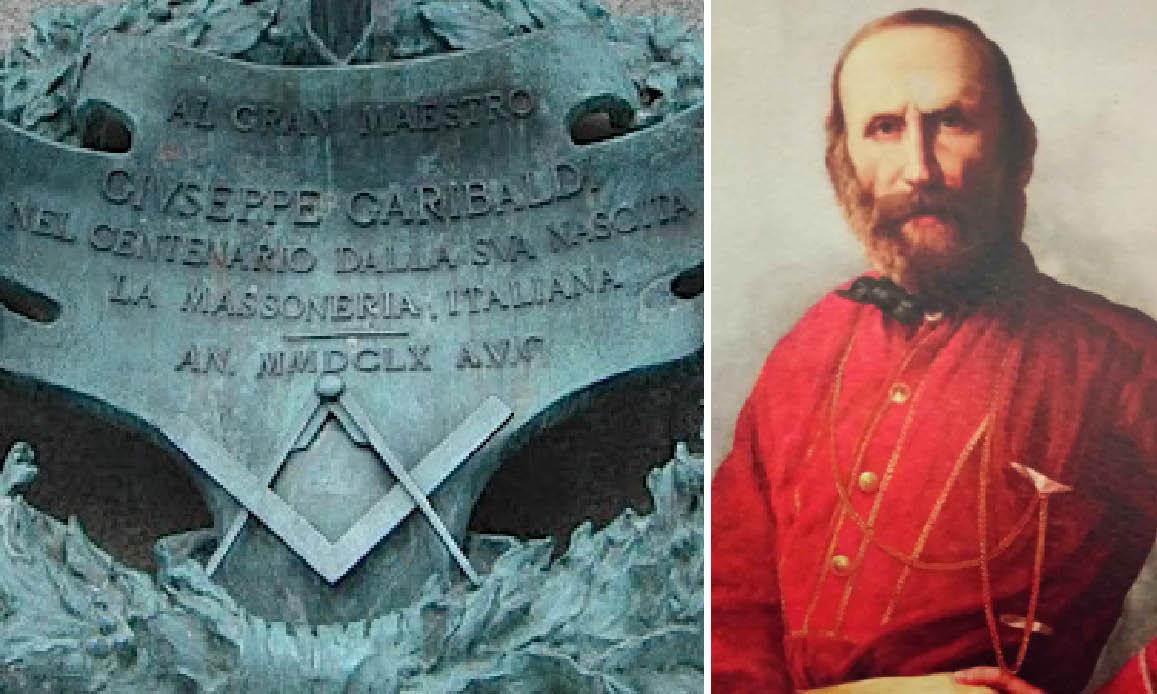 GARIBALDI E I MILLE. Mercenari dei Massoni Britannici e complici della Mafia armati contro la Chiesa