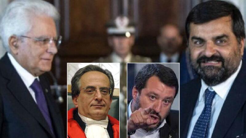 GIUSTIZIA CORROTTA, MATTARELLA CIECO: Dal caso Trani al PalamaraGate pro-PD e contro Salvini. Terremoto tra le toghe rosse