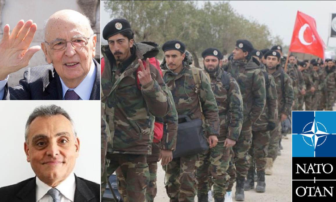 14MILA JIHADISTI IN LIBIA grazie a Turchia, Deep State NATO e Lobby Armi USA. Col plauso dell'ex consigliere di Napolitano, ora ambasciatore a Tripoli
