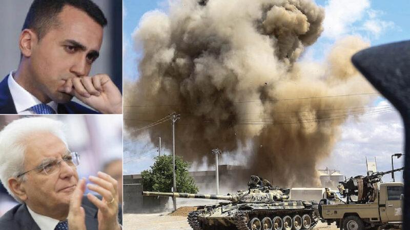 LIBIA SULL'ORLO DI UNA GRANDE GUERRA: per colpa dell'Italia e volere della Lobby delle Armi