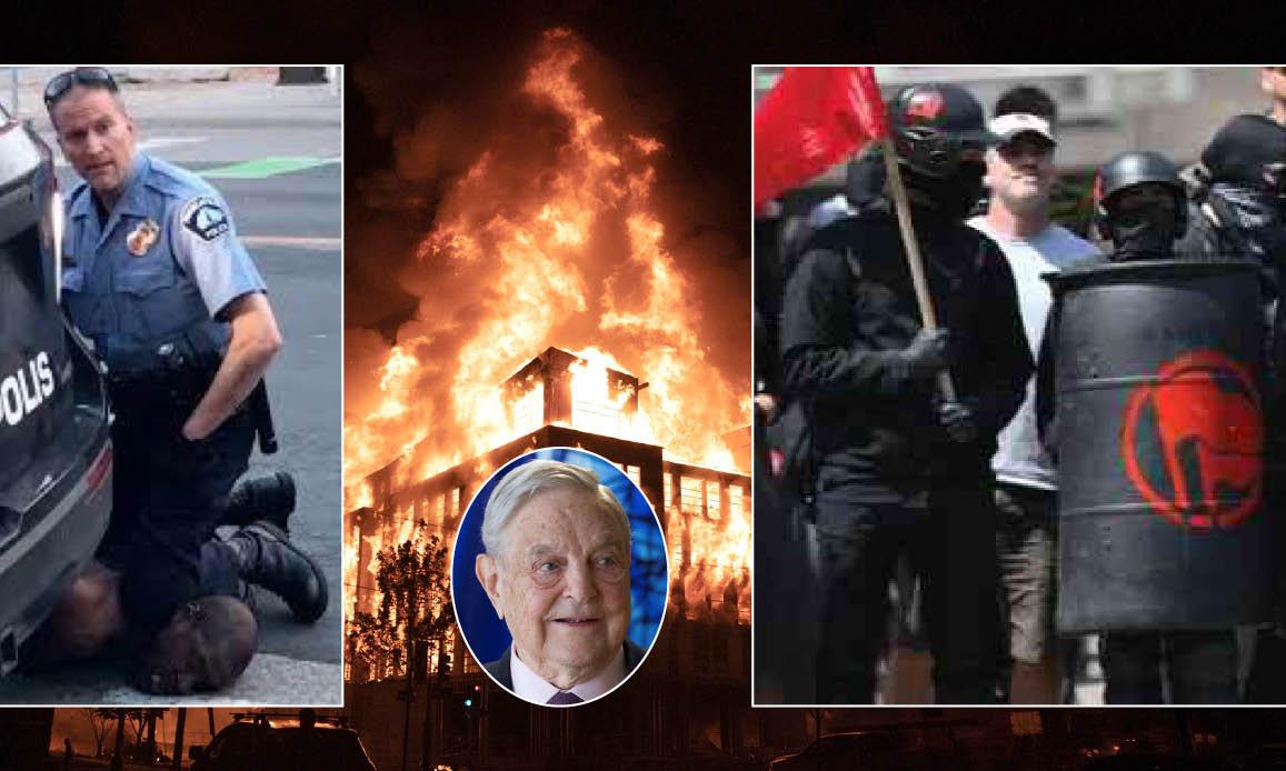 INFERNO MINNEAPOLIS: BLACKS DI SOROS & ANTIFA ALLEATI ISIS. Complotto Deep State contro Trump