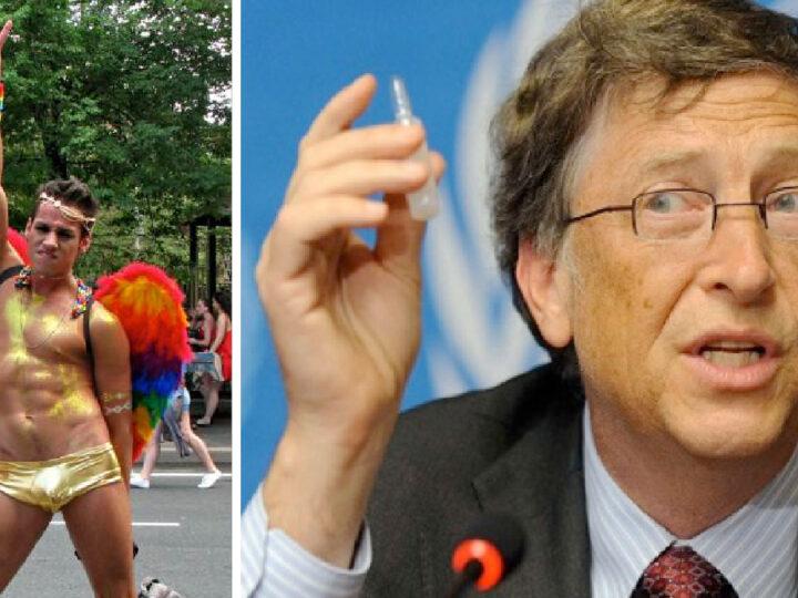 WUHAN-GATES 19 – SARS-2 BIO-ARMA PER VACCINARE TUTTI CONTRO L'AIDS. Bill Gates pro Vaccini & Gay Pride. Test militari su HIV e Coronavirus