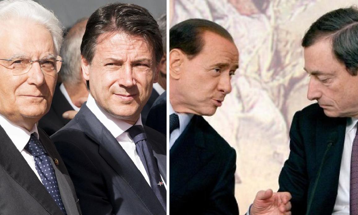 MEZZOGIORNO DI FUOCO: CONTE SI E' DIMESSO. Berlusconi già pronto al Nazareno Bis col PD… Per il mondialista Draghi premier?