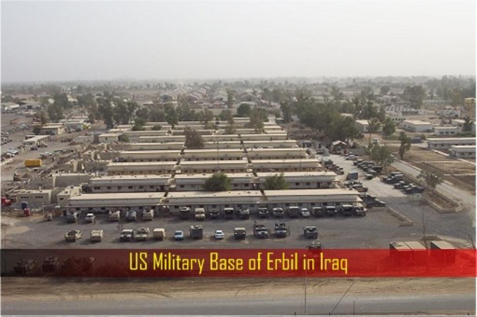 Attacco missilistico alla base Usa di Erbil in Iraq: 1 morto, 6 feriti