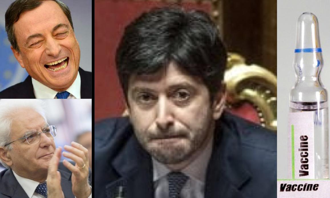 NWO CONTRO L'ITALIA – 4. MINISTRO CON LICENZA DI UCCIDERE! Paracetamolo invece di Cortisone. Ora vaccino AstraZeneca agli anziani dopo l'allarme EudraVigilance