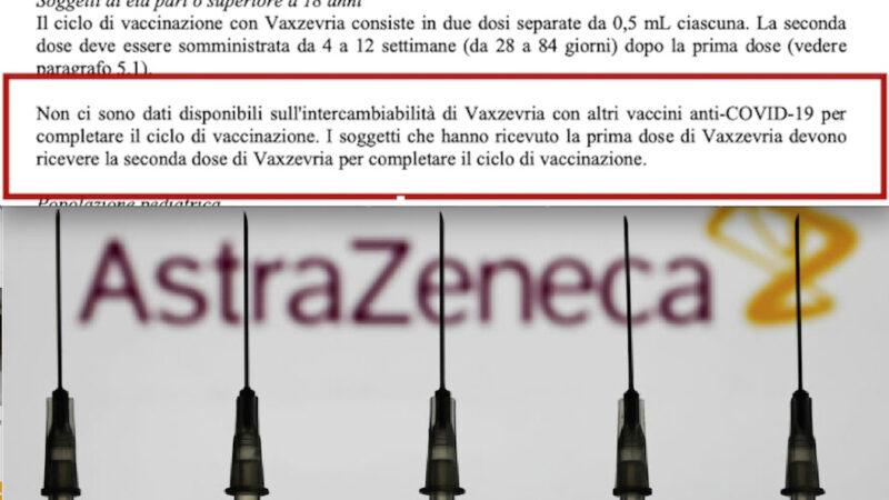 """""""MIX VACCINI NON TESTATO"""": ITALIANI CAVIE UMANE. Allerta di AstraZeneca, Medici e Campania sui Rischi """"cocktail"""" coi mRNA"""