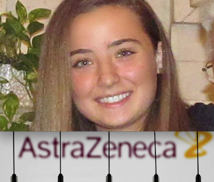 MISTERO SULLA MORTE DI CAMILLA DOPO IL VACCINO. La Famiglia smentisce la Malattia: s'indaga per Omicidio Colposo. Stop AstraZeneca per i Giovani