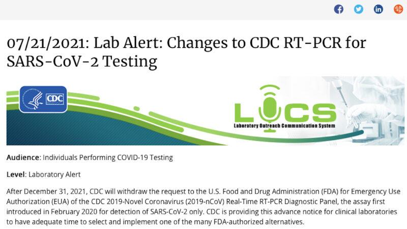 """BOMBA SULLA PANDEMIA: CDC USA RITIRA TAMPONI PCR. """"Non distinguono Sars-Cov-2 da Influenza"""". Contagi COVID-19 Falsati!"""