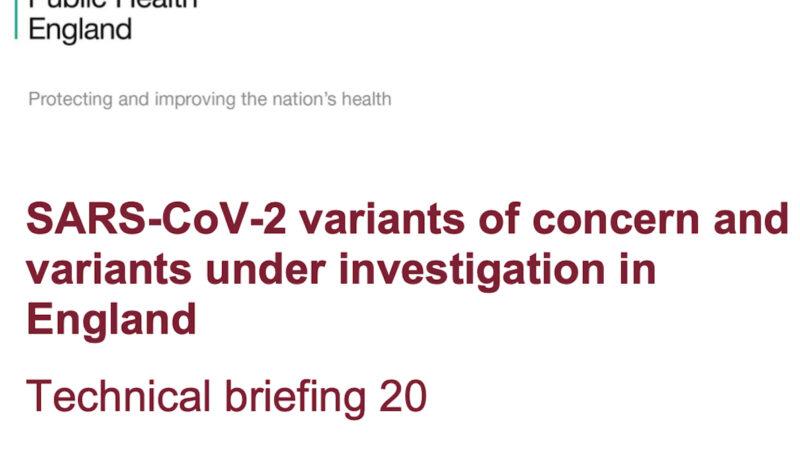 VARIANTE DELTA, DATI SHOCK DALL'INGHILTERRA: Vaccinati Morti di Covid quasi il doppio dei Non Vaccinati.