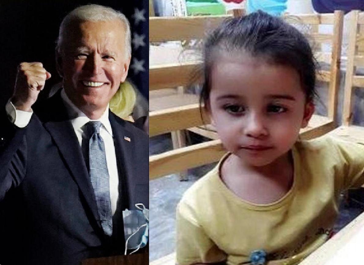 MALIKA, 2 ANNI, ASSASSINATA A KABUL COI FAMILIARI DAL DRONE DI BIDEN. La Vendetta contro l'Isis ha fatto una Strage di Innocenti
