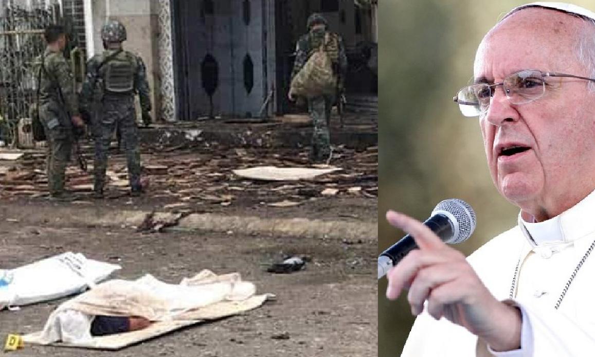FILIPPINE: STRAGE DI CRISTIANI. L'ISIS RIVENDICA, IL PAPA CONDANNA
