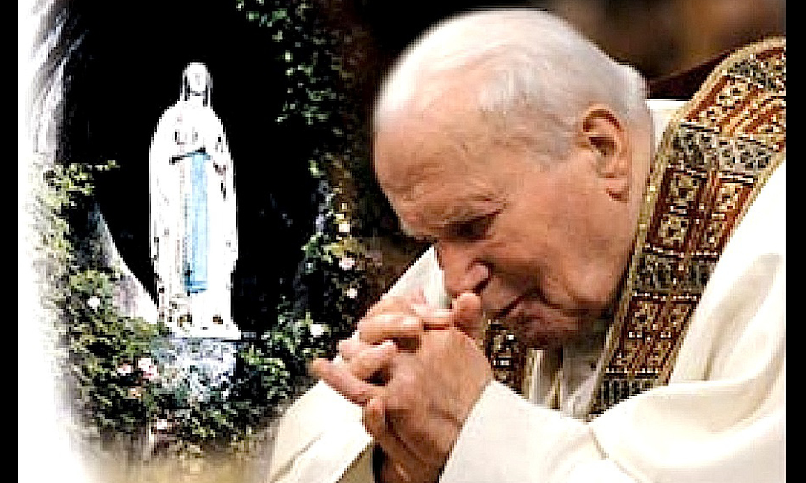 IN THE MEMORY OF JOHN PAUL II: the Bright Rosary's Pope