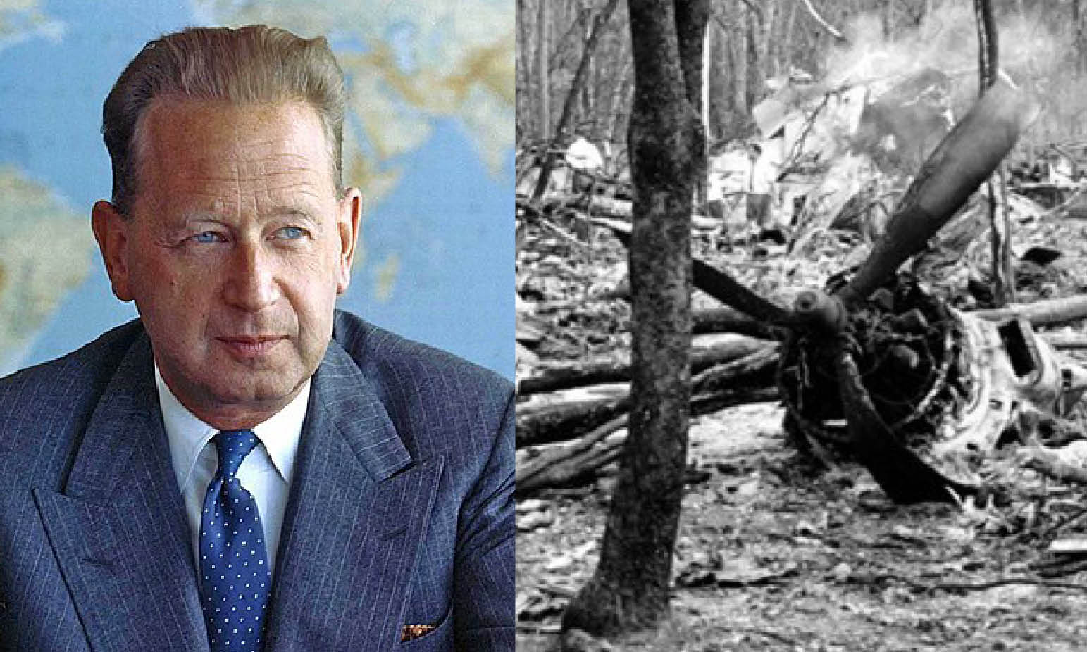 """THE UN SECRETARY GENERAL KILLED"": AFTER 58 YEARS THE BRITISH 007 CONCEAL THE DOSSIER"