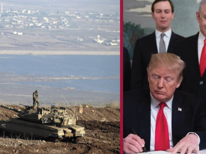 """Israel must leave the Golan"". The UN's slap against Trump and Bibi-Briberies"