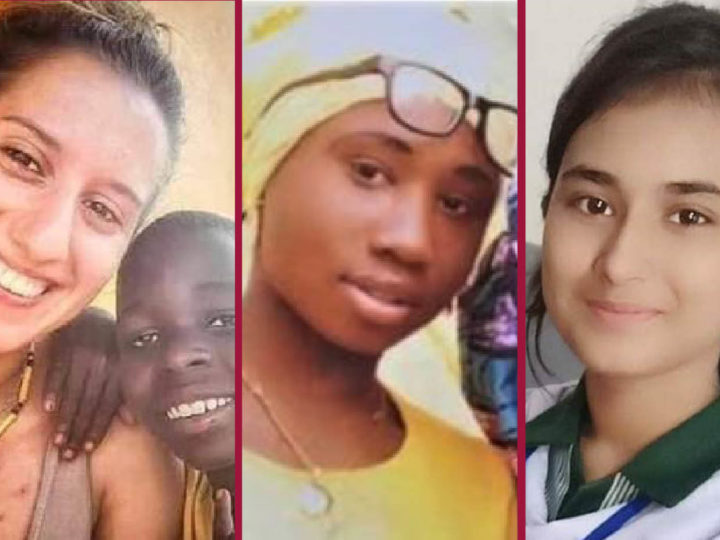 Nightmare Christmas for Silvia, Leah, Huma teens: jihadists' sex-slaves because Christians