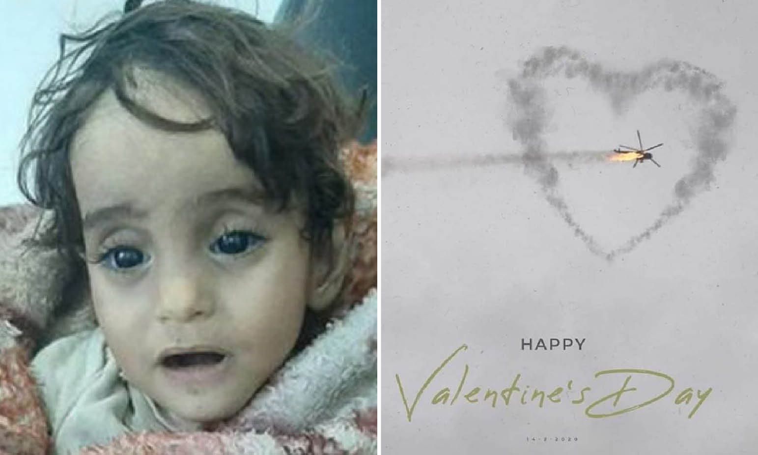 In Idlib and Afrin's Hell Toddler Dead for Bitter Cold… Or for Turkish big Fake-News?