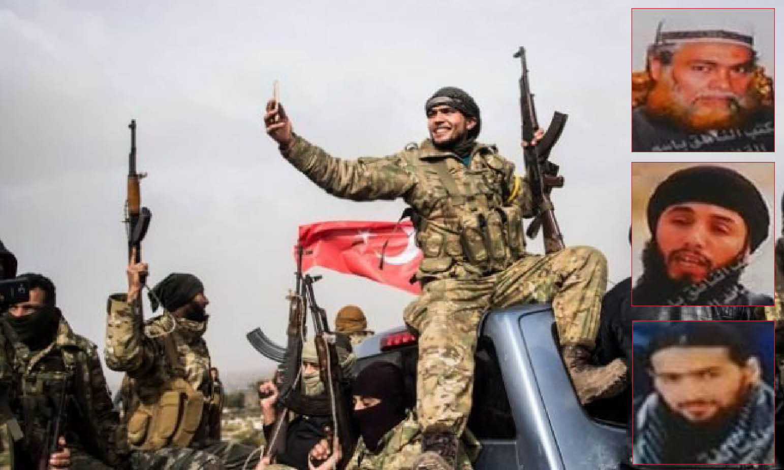 In Libya 229 ISIS Fierce Leaders with 4700 Turkish-backed Jihadists. UN Investigates, Europe Sleeps