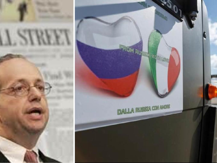 CoVid-19. Wall Street Media's Analysts Censure News on Russian Mission in Italy
