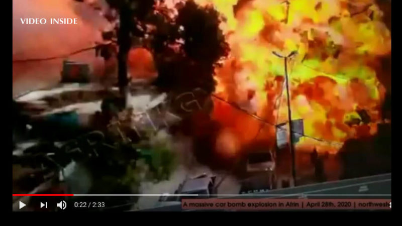 Syria: Tanker Detonated at Market. Suspect Massacre with 42 dead. Even 11 Children