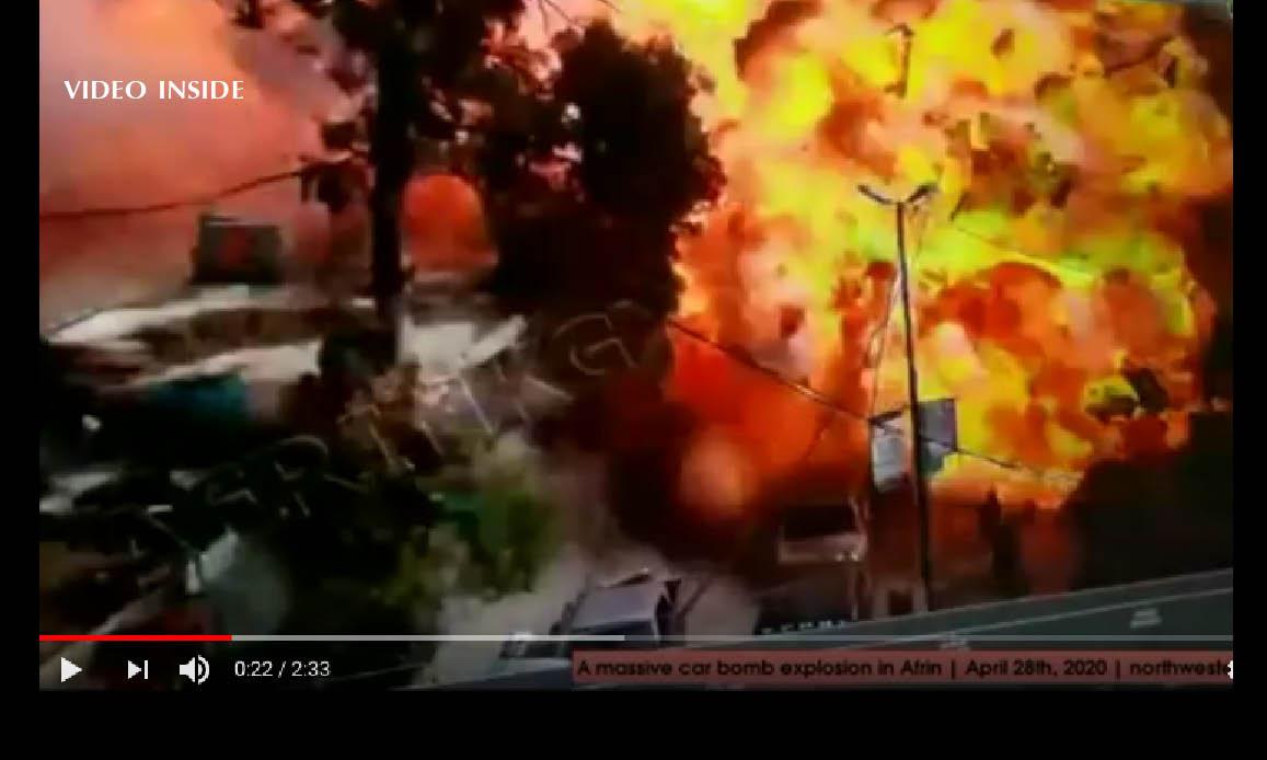 Syria: Tanker Detonated at Market. Suspect Massacre with 42 dead. Even 11 Children
