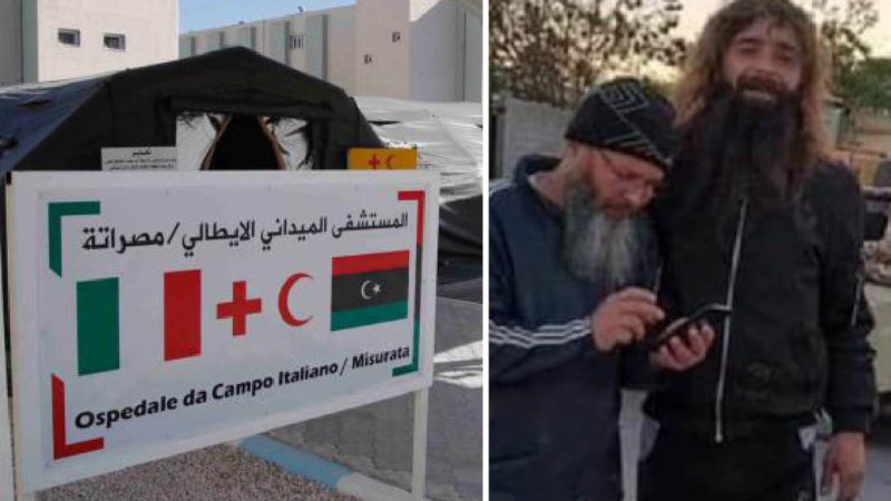 Al Qaeda's Jihadists Treated in Italian Military Hospital in Libya. LNA Blames