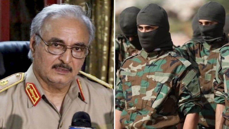 "Libya: Tobruk Parliament ""stops"" Haftar. Turkish-backed Jihadists Winning are Threating for Europe."