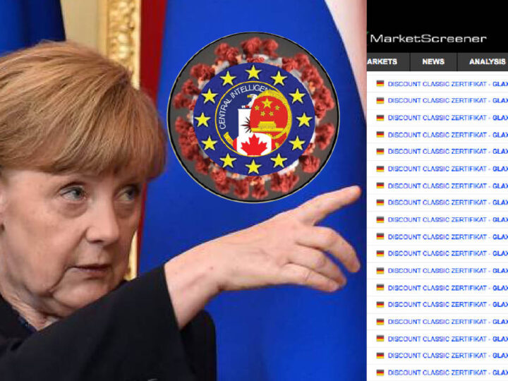 WUHAN-GATES – 13. New Pandemic: Merkel's Forecast & Suspicious Bet on Big Pharma's German Bonds