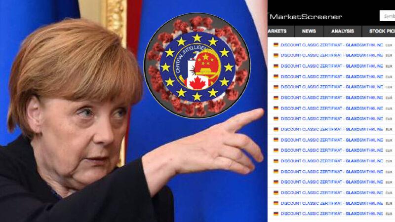 WUHAN-GATES – 13. New Pandemic: Merkel's Forecast & Suspicious Bet on Big Pharma's German Bonds