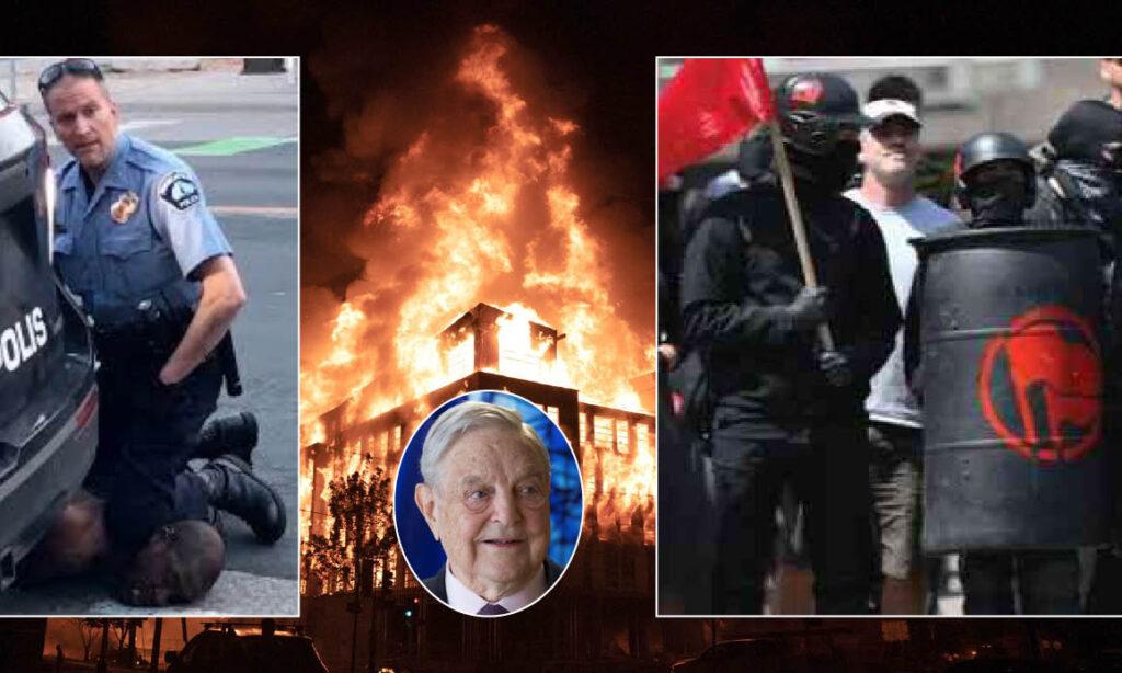 MINNEAPOLIS HELL with Soros' Blacks Lives Matter & Antifa ISIS ...