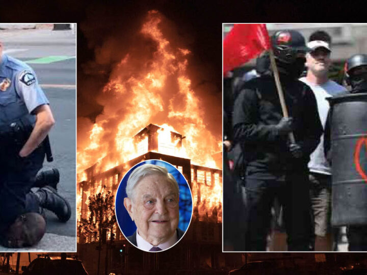MINNEAPOLIS HELL with Soros' Blacks Lives Matter & Antifa ISIS-Allies in NED-Deep State Plot vs Trump