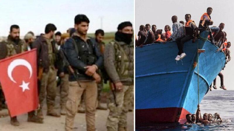 Thousand Erdogan's ISIS Jihadists in Italy from Libya. Haftar Spokesman's Warning on Turkish Migrant's Traffic. Interpol on Alert
