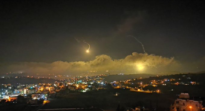 After alleged Nukes against Beirut, Israeli Phosphorus Bombs Fell on Lebanon Borders