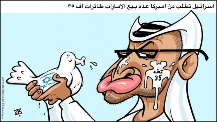 Jordan cartoonist detained for 'offensive' drawing of UAE ruler after Israeli deal