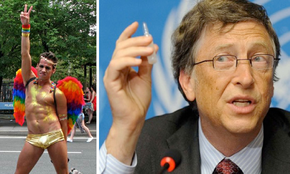 WUHAN-GATES 19 – SARS-2 Bio-Weapon to Vaccinate All against AIDS. Bill Gates supports Vaccines & Gay Pride. Military Tests on HIV and Coronavirus
