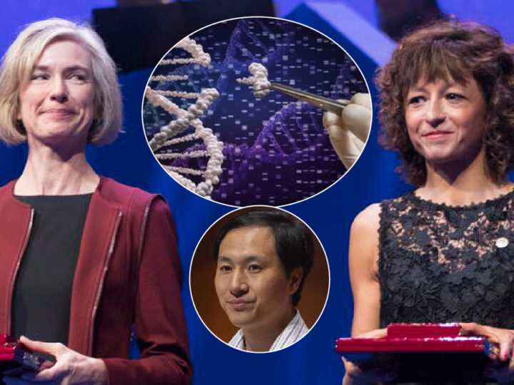 "Chemistry Nobel to ""TechMothers"" of Twin Babies with Altered DNA. Their Human Embryo Tests used by Chinese Geneticist Convicted for Genetic Manipulation"