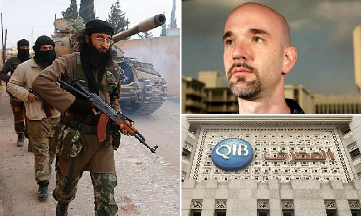 """""""Al Nusra (Al Qaeda) Terrorists Funded by Qatar"""". Scotland Yard Investigates. Syrian Refugees' and American Reporter's Lawsuits against Doha's banks"""