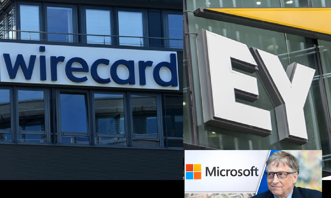Pandemic: Fake-News Fight promoted by EY. But Ernst&Young (MSFT Gates partner) overlooked billionaire Wirecard's Crack in Germany