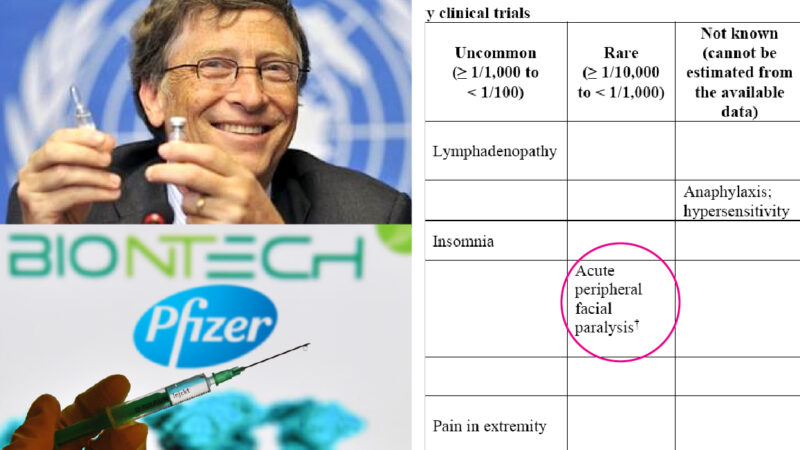 Pfizer Vaccine as Russian Roulette: Inefficacy, Facial Palsy and Anaphylaxis' Risks. Italians Physicians' Uprising. German Vaccinated Nurses' Overdose